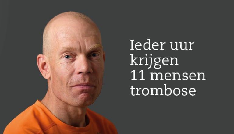 Topsporter Remco (45 jaar) kreeg een Trombosebeen