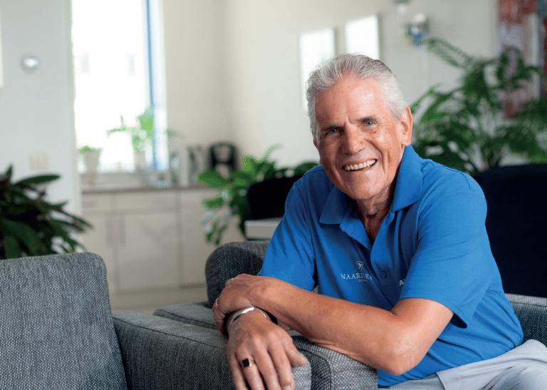 Han Morssink (78 jaar) slikt bloedverdunners na een zware longembolie.