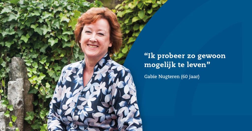 Gabie Nugteren heeft het May-Thurner Syndroom
