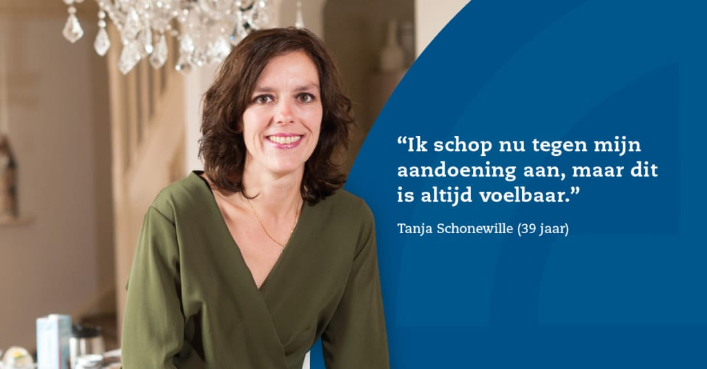 Tanja heeft het May-Thurner syndroom