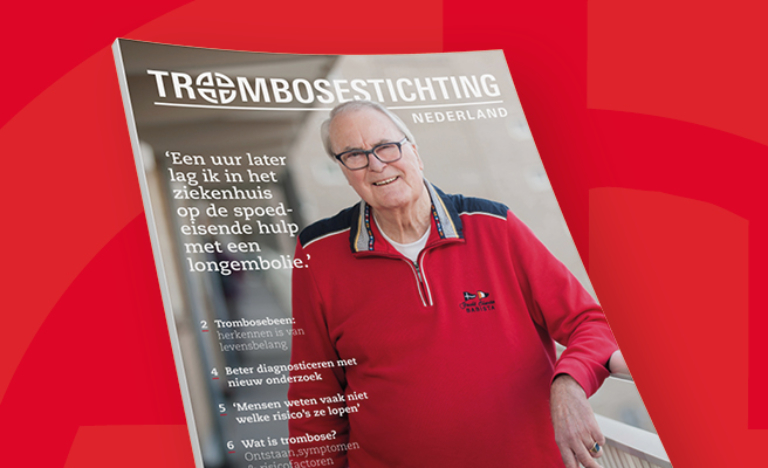 Brochure over het trombosebeen