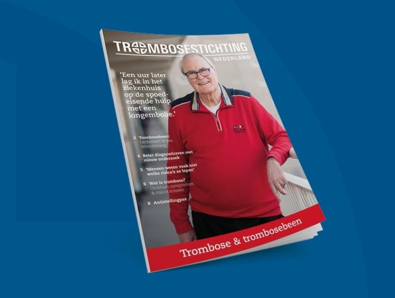 Brochure trombosebeen