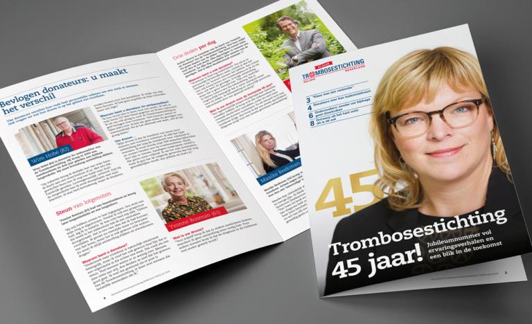 Meld u aan voor het gratis Trombose magazine