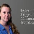 Janneke Keller (32 jaar) kreeg een longinfarct na een longembolie